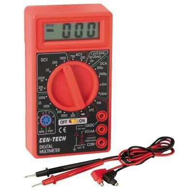 Digital Acdc Multimeter Voltmeter Ohmmeter Ampmeter Testmeter New