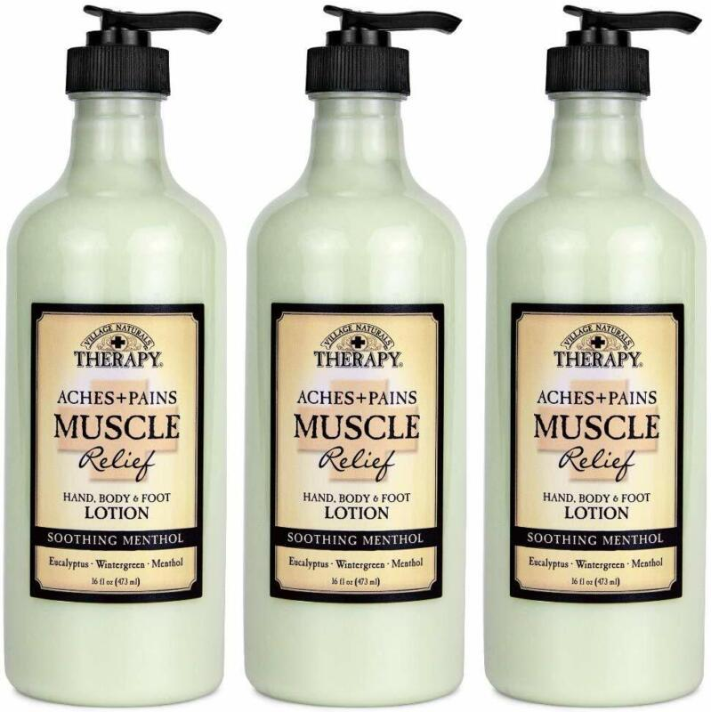 Village Naturals Therapy, Lotion, Aches and Pains Muscle Rel