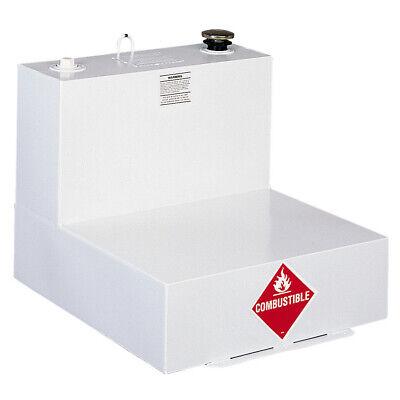 Delta 51 Gallon L-shaped Steel Liquid Transfer Tank - White 482000 New