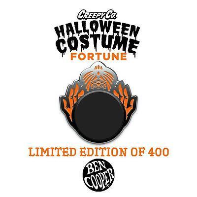 BEN COOPER HALLOWEEN COSTUME FORTUNE TELLER ENAMEL PIN BY CREEPY CO. - Fortune Teller Halloween Costume