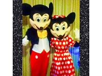 Mickey & Minnie Mouse Hire/character appearance!