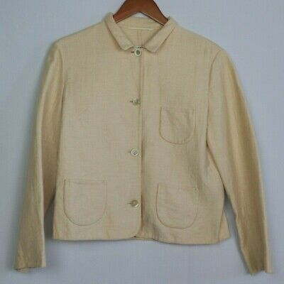 JIL SANDER Women's Size 38 Cashmere Button Blazer Jacket