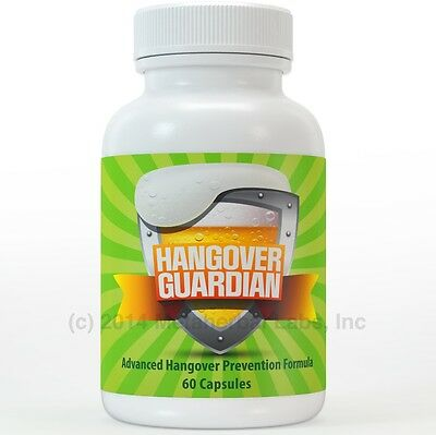 Hangover Guardian Pills Advanced Hang Over Prevention Cure W Charcoal