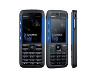 Nokia Xpress Music 5310 Blue Unlocked Camera Mobile Bar Senior or Kids first Phone New