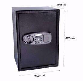 New 65 Litre Large Steel Digital Electronic Safe.
