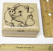 Mostly Animals Rubber Stamps