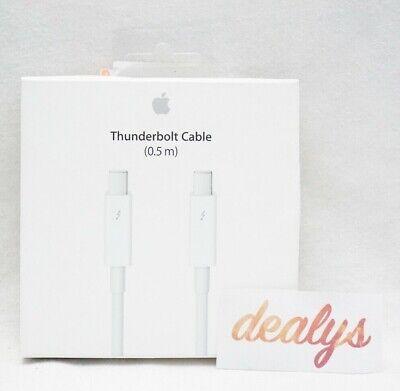 Genuine Original OEM Apple Thunderbolt Cable (0.5m) MD862LL/A, White