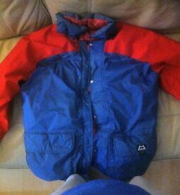 Mountaineering / Polar expedition jacket £100 o.v.n.o
