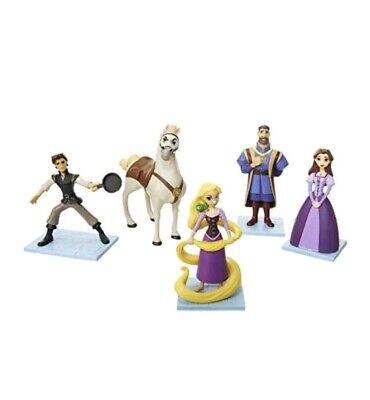 Disney Tangles Series Rapunzel  Eugene Adventure Figurine 5 piece Set NIB