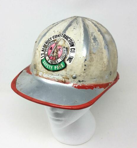 Vintage SuperLite FIBRE METAL Hard Hat Helmet