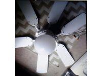 Ceiling fans x2
