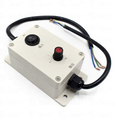 Ac Vibration Motor Governor Variable Adjust Speed Controller W Switch 220v110v