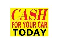 ALL SCRAP CARS & VANS WANTED TOP CASH PAID SCRAP CAR SELL MY CAR WE BUY ANY CAR CASH PAID
