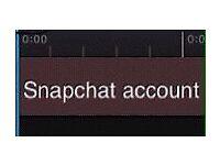 £0 snapchat account