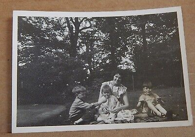 Photograph Social History happy family Group Shot vintage Fashions 1960's