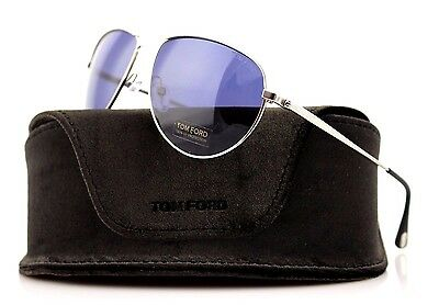 RARE TOM FORD William JAMES BOND 007 Blue Lens Sunglasses TF 207 FT 0207 17V