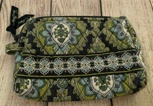 Vera Bradley Cosmetic Bag in Cambridge - Make-up Case - Greens, Blues - Floral