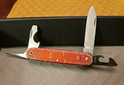 Wenger 1964 Soldier Alox Vintage Swiss Army Knife