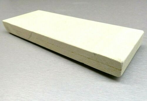 """Jewelry Soldering Block Ceramic Plate for Bench Work Torch Melting Tile 1"""" Thick"""