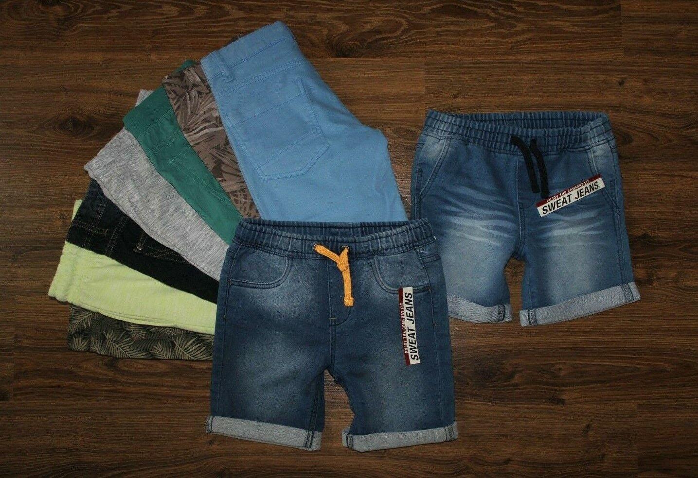 Junge kurze Hose Jeans Jeanshose Shorts Bermuda AUSWAHL  134 140 146 152  NEU