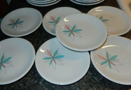 Shenango Restaurant Ware Atomic Flower Starburst Bread Plate~VGC~Fast Shipping!