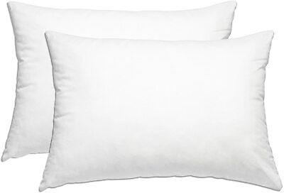 Best Bed Pillows for Sleeping 2 Pack Soft and Supportive Gusseted Pillow (20x36)