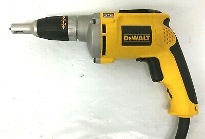 Dewalt Dw272 4000rpm Variables Speed Drywall Screw Gun Kl124