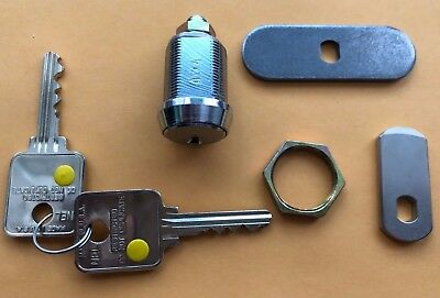 New Medeco 72s Cam Lock High Security With 2 Keys And 2 Catch Pawls