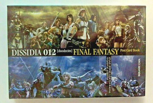 Final Fantasy Dissidia Postcard Book