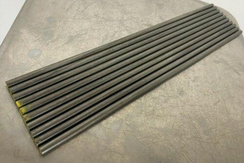 "1018 Steel Bar, Cold Drawn Round .250"" (1/4"") x 12"" length  (10 PC LOT)"