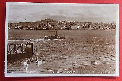 J.B.WHITE RP Postcard c.1920 DUNDEE FROM NEWPORT ANGUS SCOTLAND