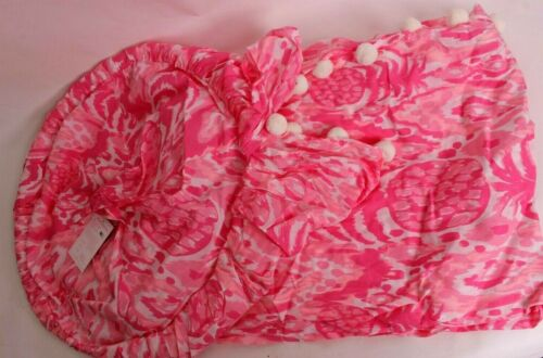 Pottery Barn Kids Lilly Pulitzer Canopy In Tropi Call Me, pink
