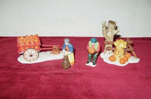 Dept 56 Heritage Village Accessory - HARVEST TIME (Set of 4) /In Box #5941-2