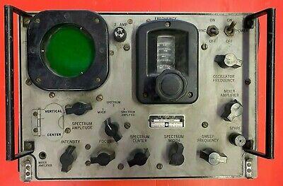 Ts-148aup Military X Band Radar Spectrum Analyzer Po Anupm-33 Radar Test Set