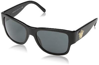 Authentic Italy Versace Mens Fashion Sunglasses Sun Eyewear Shades Unisex Black