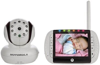 MOTOROLA MBP36 WIRELESS DIGITAL VIDEO Baby Monitor w/Night Vision & Remote *NEW*