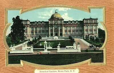 Vintage Postcard Of The Botanical Gardens In The Bronx Park New York City,