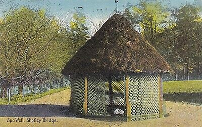 Postcard - Shotley Bridge - Spa Well