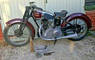 Vintage Rare 1934 Rudge Radial 250 Barn Find Restoration Project