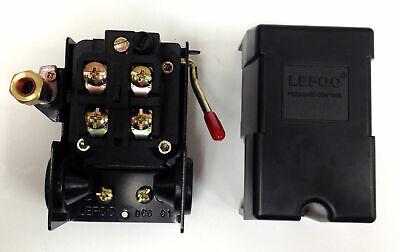 Air Compressor Pressure Switch 95-125 Psi 14 Fpt Single Port