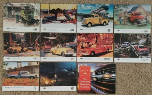 The Chevy Truck Milestones Collection - 80 Years of Chevrolet - Complete Set 10