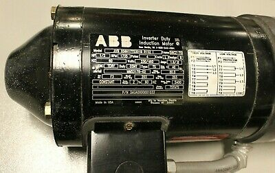 Abb Electric Motor With Dayton Brake