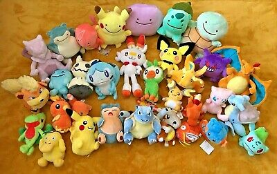 Pokemon Plush Teddy Collection - Choice of 56 Characters - UK SELLER - BRAND NEW