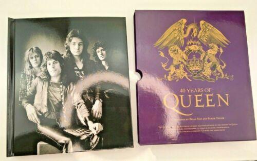 QUEEN Rare Purple Sleeve - 40 Years Of Queen Book - Includes CD and Memorabilia