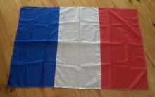 VINTAGE QUALITY RARE FRENCH (FRANCE) HOISTING FLAG Kambah Tuggeranong Preview