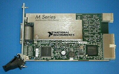 Ni Pxi-6255 80ch Analog Inputs Multifunction Daq National Instruments Tested