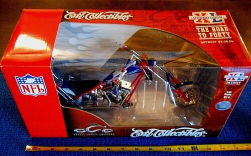 ERTL COLLECTIBLES SUPERBOWL XL 1:10 SCALE OCC ORANGE COUNTY CHOPPER