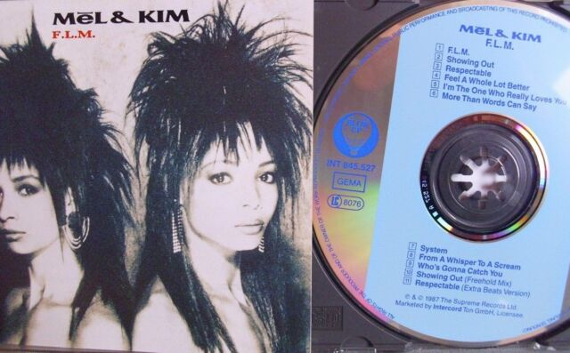 Mel & Kim- F.L.M.- INTERCORD/ SONOPRESS 1987- Made in West Germany WIE NEU
