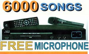Karaoke-Player-Machine-with-6000-English-Songs-and-FREE-Microphone-Ready-2-Sing