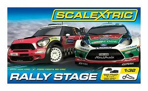 Scalextric 1:32 Rally Stage Race Set